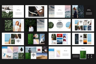 Thumbnail for Leaves Keynote Template