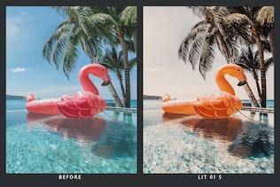 Thumbnail for 20 Blue and Orange Lightroom Presets & LUTs