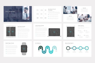 Thumbnail for Melbourne Professional PowerPoint Template