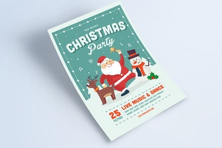 Thumbnail for Christmas Event Flyer