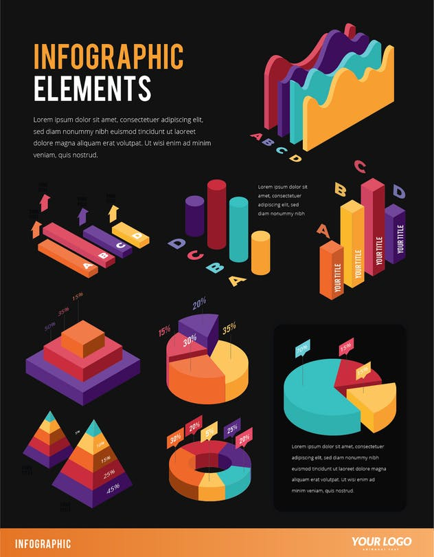 Infographic Examples for Designer V.45 - product preview 1
