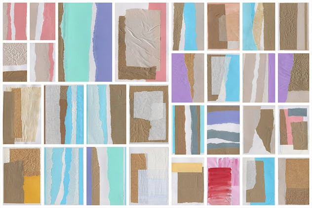 Collage Paper Textures 1 - product preview 1