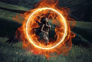 24 Волшебное кольцо Фото Наложения