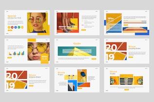 Thumbnail for Bruce Pastel Google Slide