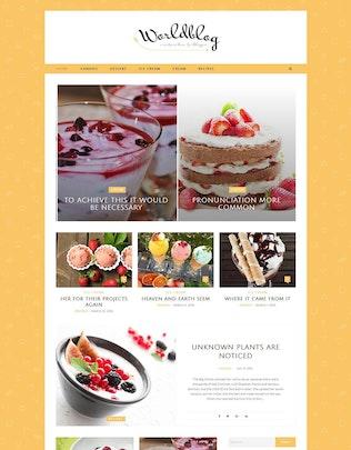 Thumbnail for Worldblog - WordPress Blog and Magazine Theme