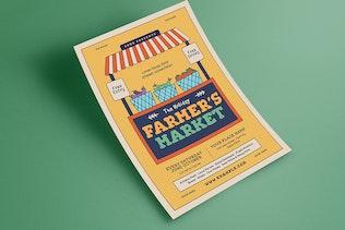 Thumbnail for Farmer's Market Event Flyer