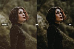Thumbnail for Dark & Moody Mobile & Desktop Lightroom Presets