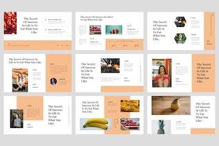 Thumbnail for Tari - Food Google Slides Template
