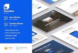 Thumbnail for The Basics Web UI Kit