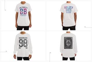 Thumbnail for T-Shirt Longsleeve Sweatshirt Hoodie Mockup