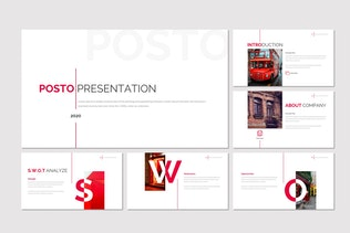 Thumbnail for Posto - Business Google Slides Template