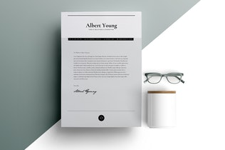 Thumbnail for Resume Template 3 Page | CV Template | INDD + DOCX
