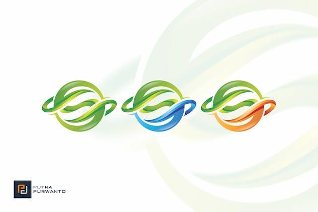 Green Sphere - Logo Template