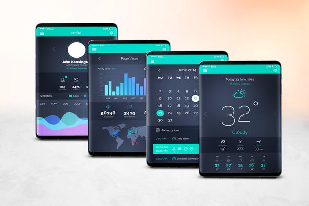 S9 Tablet Mockup - product preview 7