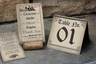 Thumbnail for Newspaper Wedding Invitation
