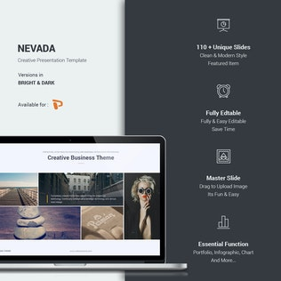 Thumbnail for Nevada Creative Template