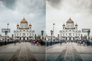 Thumbnail for Moscow Travel Mobile & Desktop Lightroom Presets