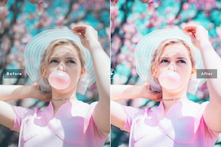 Thumbnail for Sweet Pink Mobile & Desktop Lightroom Presets