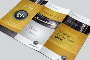 Thumbnail for GrowBank – Trifold Brochure