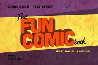 Thumbnail for Vintage Comics Text Effects