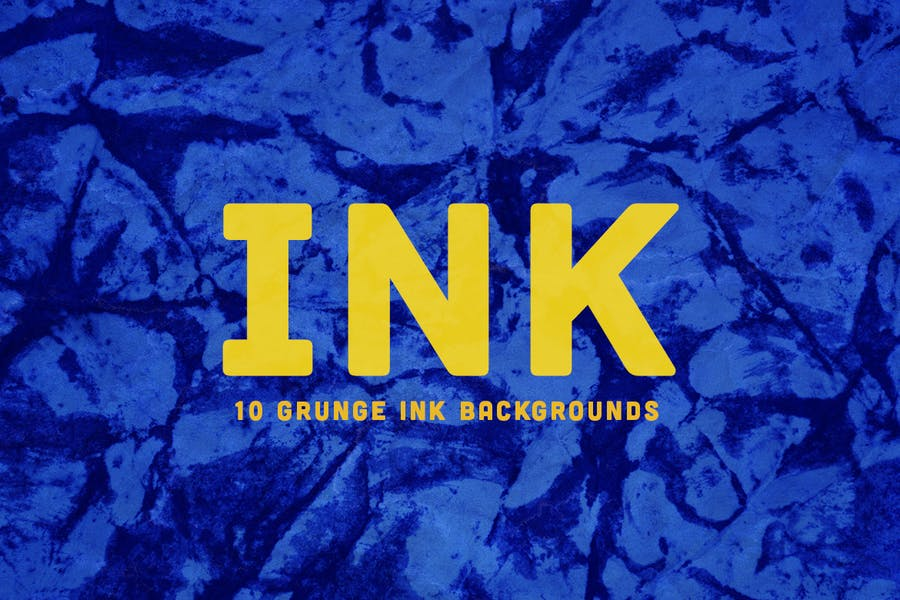 Grunge INK  Backgrounds - product preview 1