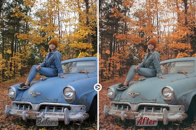 Autumn Colors LUTs Pack#2