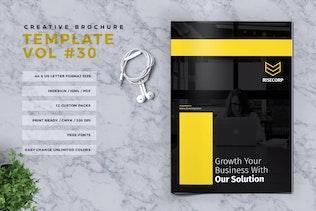 Thumbnail for Creative Brochure Template Vol. 30