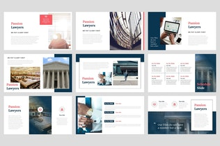 Thumbnail for Passion - Lawyer PowerPoint Template