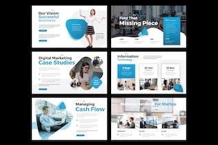 Thumbnail für DIGITAL BUSINESS - Google Slide V291