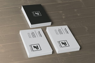 Thumbnail for 5 Business Card Mockups