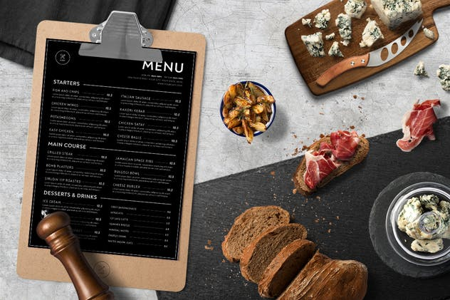 Minimalist Food Menu - product preview 2