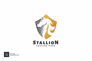 Thumbnail for Stallion - Logo Template