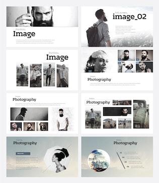 Thumbnail for HIPSTER - Multipurpose Powerpoint Template V26