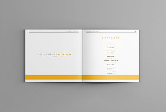Photography Portofolio Templates - product preview 2