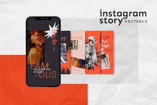 Thumbnail for Instagram Story Template