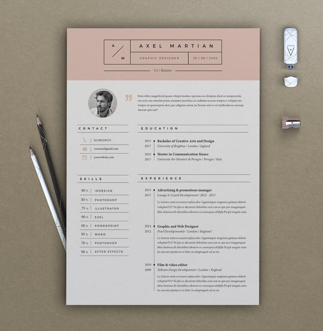 Resume Axel - product preview 4