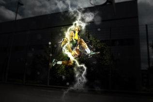 Миниатюра для Electrum - Молния Photoshop Действие