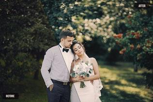 Набор из 50 идеальных свадебных LUT