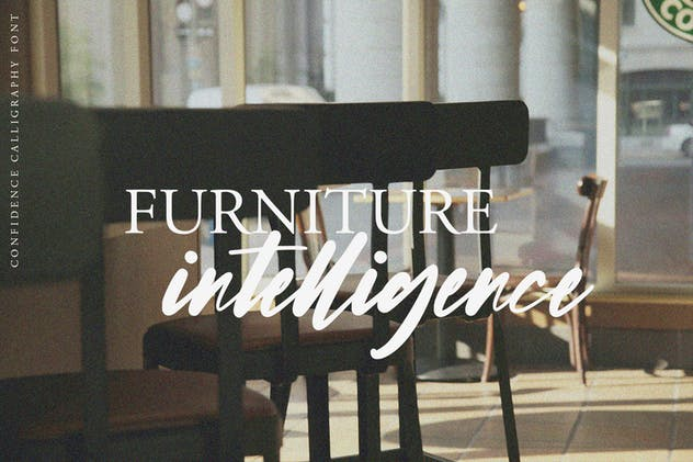 Confidence - Calligraphy Font - product preview 6