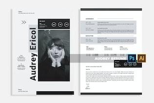 Miniature pour Audrey   CV & CV