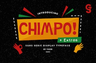 Thumbnail for Chimpo Typeface