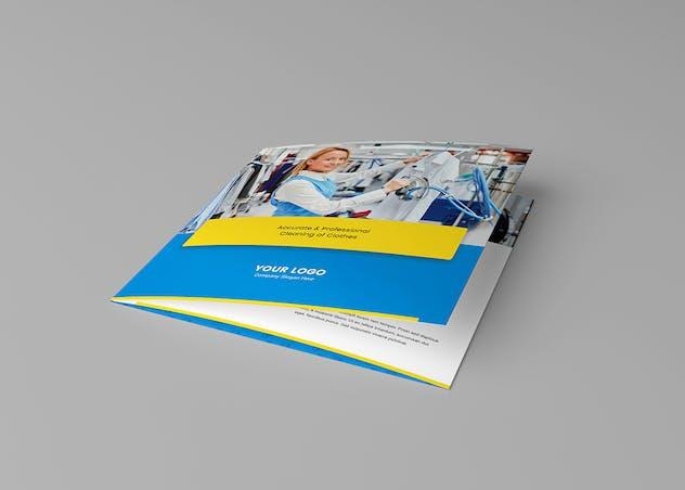 Brochure – Laundry Tri-Fold Square