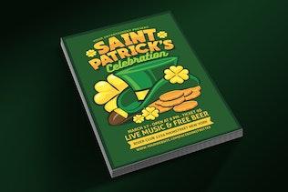 dépliant ête de Saint Patrick