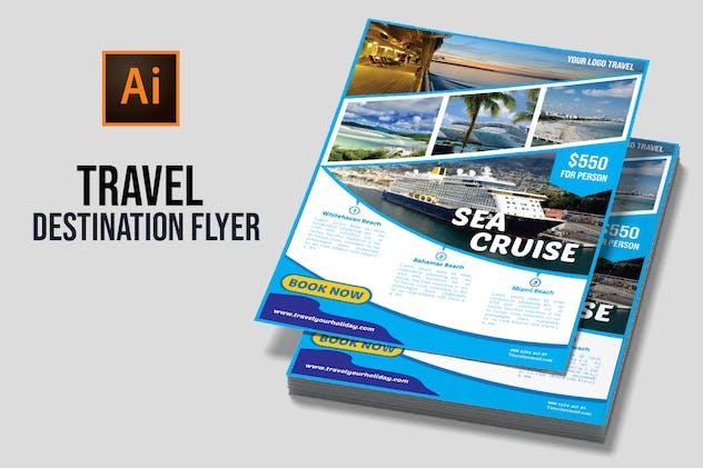 Travel Destination Flyer vol 3 - product preview 1