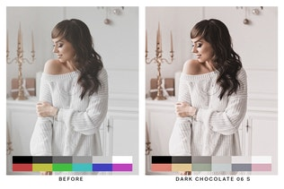 Thumbnail for 50 Nude Tones Lightroom Presets and LUTs