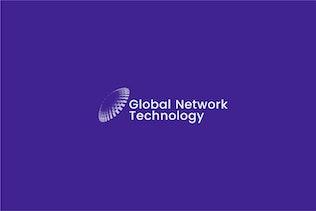Thumbnail for Global Network Digital Technology Logo template