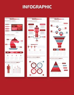 Миниатюра для Элементы бизнес-Инфографика