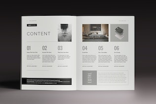 Thumbnail for Lightazine Indesign Template