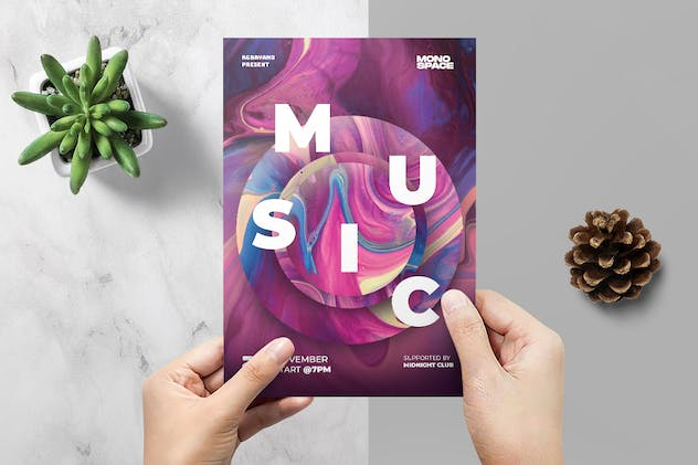 Music Festival Flyer - product preview 2