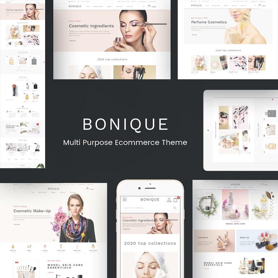 Bonique - Beauty & Cosmetic Prestashop Theme - product preview 1